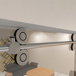 Jako SLDF-009 Stainless Steel Sliding Round Miami Door System