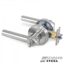 Jako 0214 Montecarlo Premium Stainless Steel Keyed Door Lever