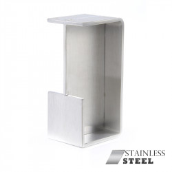Jako W4254 Solid Stainless Steel Sliding Door Pull