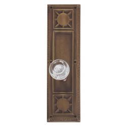 """Brass Accents D04-K720 Nantucket Door Set - Exterior 3 3/4"""" x 13-7/8"""""""