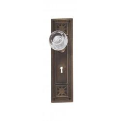 """Brass Accents D04-K724 Nantucket Door Set - Interior 2 3/4"""" X 10 1/4"""""""