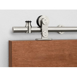 Pemko W60 Sliding Track Hardware System, Stainless Steel