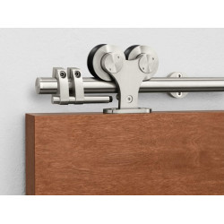 Pemko W70 Sliding Track Hardware System, Stainless Steel
