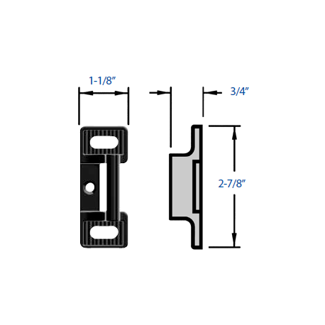 Precision S Strike for Rim Devices