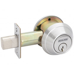 Schlage B661P One-Way Deadbolt Lock