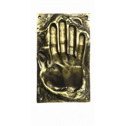 Philip Watts Single Handprint (240 x 145mm) Small Push Plate