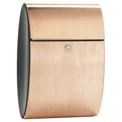 QualArc ALX-ELI Allux Mailbox Ellipse in Copper Color