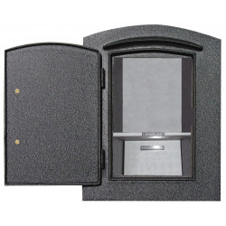 QualArc MAN-S-1400 Manchester Security Column DROP CHUTE Insert (Includes Manchester Faceplate)