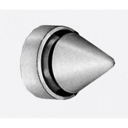 DCI 8S Gray Metal Door Silencer