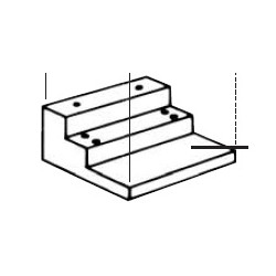 DCI ABC-3000 Single AB /C Mounting Hardware Package