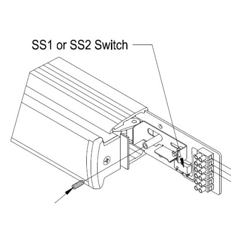 DCI SS1, SS2 SPDT Mechanical, Electronic Signal Switchs