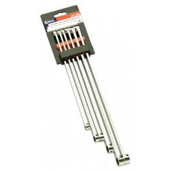 Genius Tools DE-706M* 6PC Extra Long Metric Box End Wrench Set