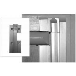 Best SEDA-ECHFS-MH-AL-4 Stanley Emergency Door Alarm Full Surface Angled Alum. Hinge