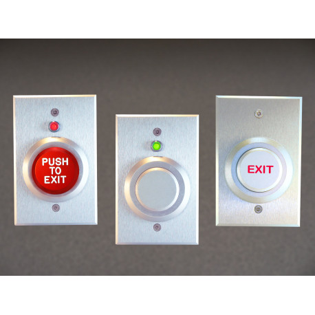 Dortronics 5287 Series Heavy Duty Single Gang Push Button Switches