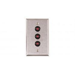 Alarm Controls Remote Station Plates RP-46