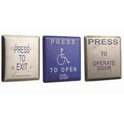 Alarm Controls Push Plates Jumbo