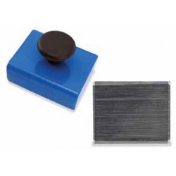 Magnet Source HMKS Square Base Ceramic Magnet with Knob