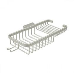 """Deltana WBR1051HU Wire Basket 10-3/8"""", Rectangular Deep & Shallow, with Hook"""