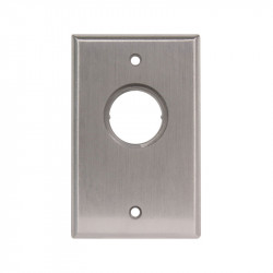 Camden CM-1100 / CM-2000 Flush Mount Single Gang Key Switch - Cast Aluminum Faceplate