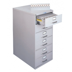 Lund 2600 Line Six Drawer Key Cabinets