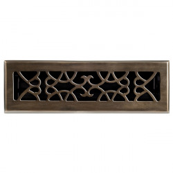 Brass Élégans™ 120 Solid Cast Brass Victorian Floor Register