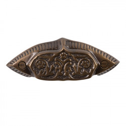 Brass Elegans BE-118 Solid Brass Plymouth Drawer Pull