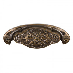 Brass Elegans BE-37 Solid Brass Newcastle Drawer Pull
