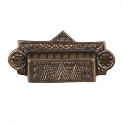 Brass Elegans BE-39 Solid Brass Eastlake Drawer Pull