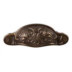 Brass Elegans BE-2 Solid Brass Chelsea Drawer Pull