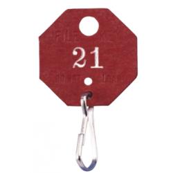 Lund 507 Fiber File Key Tags, Lot 100