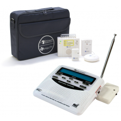 Krown Manufacturing K-WRKA300SYS Weather Alert Radio with Multi-Sensory System with Case