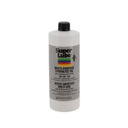 Super Lube 51030 Synco Multi Purpose Synthetic Oil with Syncolon (Pkg of 12)