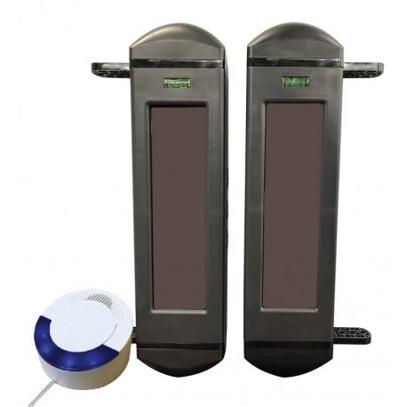 Dakota Alert BBA-4000 Solar Powered Wireless Infrared Break Beam Kit