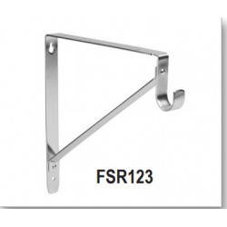 Cal Royal FRS123 Heavy Duty Shelf and Rod Support