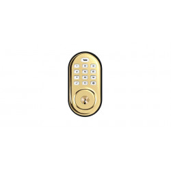 Yale Assure Lock YRD216 Push Button Deadbolt, Standalone or Z-Wave/Zigbee