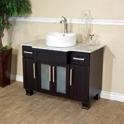 """Bellaterra 604023A 40 In Single Sink Vanity - 40x23x35.25"""""""