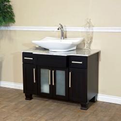 "Bellaterra 604023B 40 In Single Sink Vanity - 40x23x33.5"""