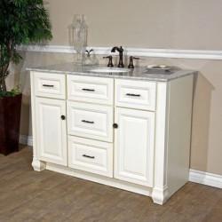 "Bellaterra 605022 50 In Single Sink Vanity - 50x22x36"""