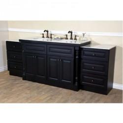 """Bellaterra 605522C 93 In Double Sink Vanity - 93x22x36"""""""