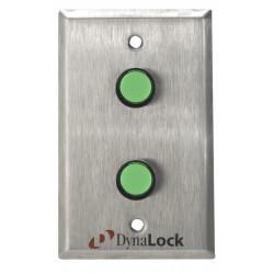 DynaLock 6125 Pushbuttons