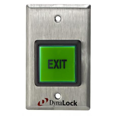"""DynaLock 6270 Push Buttons 2"""", Illuminated, Momentary SPDT, 12/24 VDC"""