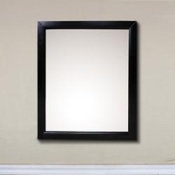 "Bellaterra 7611 24 In Mirror Cabinet-Wood-Espresso - 24x5.90x30"""