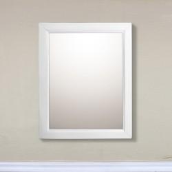 """Bellaterra 7611 24 In Mirror Cabinet-Wood-White - 24x5.90x30"""""""