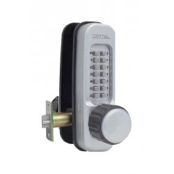 Lockey 1600A Mechanical Keyless Heavy Duty Lever Lock With Passage Function