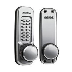 Lockey 1600-DC Mechanical Keyless Heavy Duty Knob Lock With Passage Function and Mechanical Keyless Lock