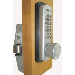 Lockey 310 P Mechanical Keyless Knob Panic Trim