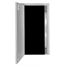 "DynaLock Custom Length Housing CLV to 96"" Two Vertical Locks - Single Door"