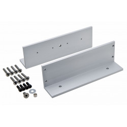 "DynaLock GLB2 Two ""L"" brackets for sliding gates"