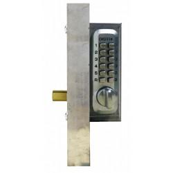 Lockey Add-A-Bolt Kit Mechanical Keyless Double Sided Combination Deadbolt Gate Lock