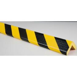 American Permalight 82-0416 H Type Corner Guard Bumper, Black-Yellow